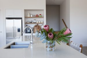 Designer kitchens are a feature of the custom built homes by Shire Homes