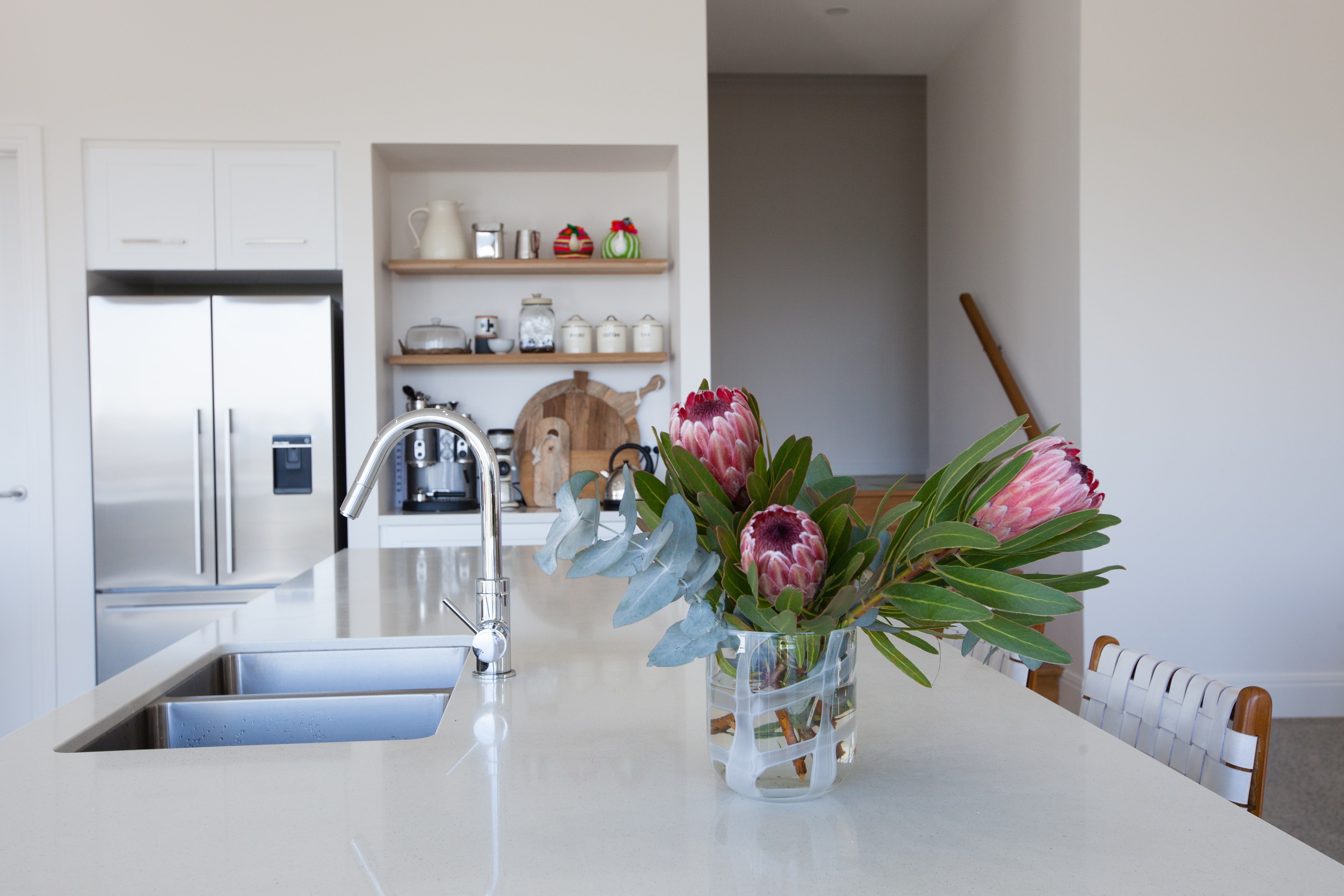 """Designer kitchen, """"The Shire"""" Mt Barker, built by the award winning Shire Homes, Adelaide Hills"""