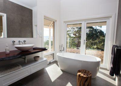 Award winning bathroom design Adelaide Hills