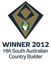 Shire Homes, Adelaide Hills, winner of the 2012 HIA South Australia award for country home builder of the year