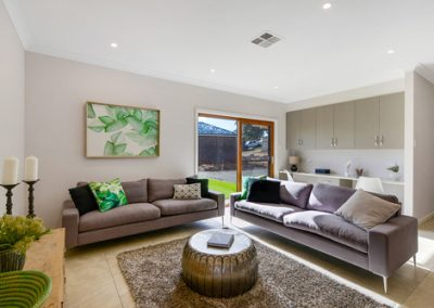 Large formal lounge in this three bedroom home in Mt Barker