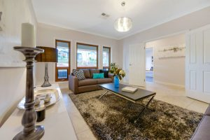 Mt Barker three bedroom home showing family area